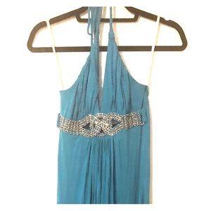 Sky maxi dress worn once